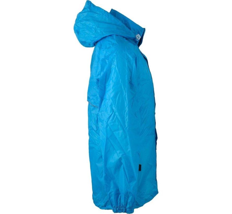 Ralka Regenjas - Volwassenen - Unisex - AquaBlauw