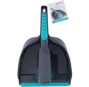 Alpina Alpina dustpan 23 X 34.5 Cm Dark gray / blue two-piece