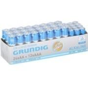 Grundig Grundig batterijen - 36 stuks - 12x AAA, 24x AA