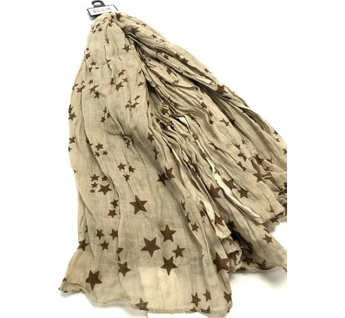 Scarf with stars