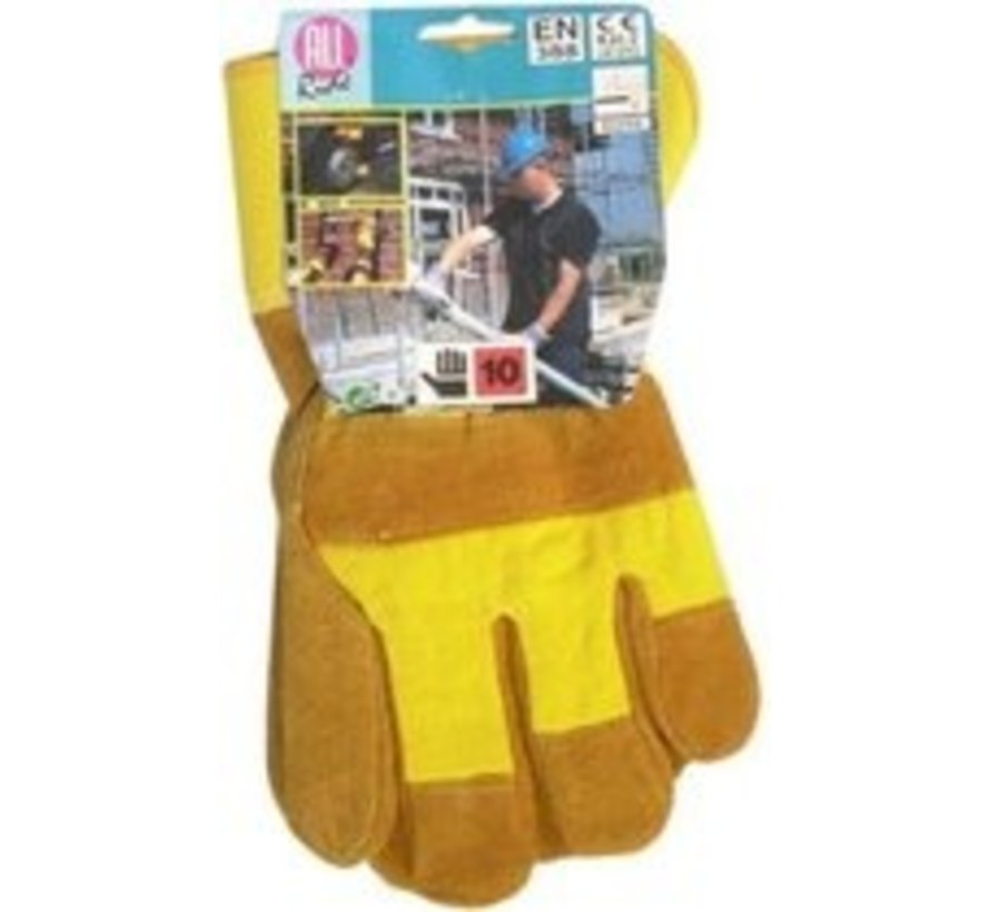 All Ride gloves - Yellow - Size 10