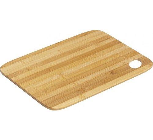 Bamboo cutting board | Chopping wood | 35x25 cm | Cook