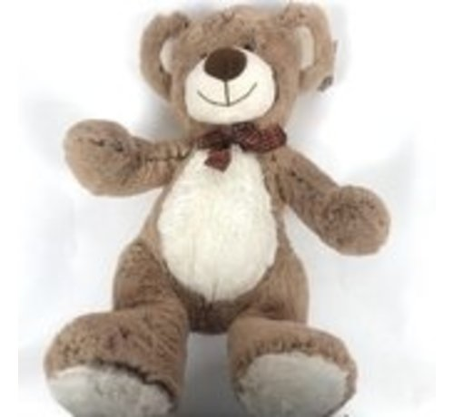 Bear- Sitzen - Braun / Beige - 33 cm