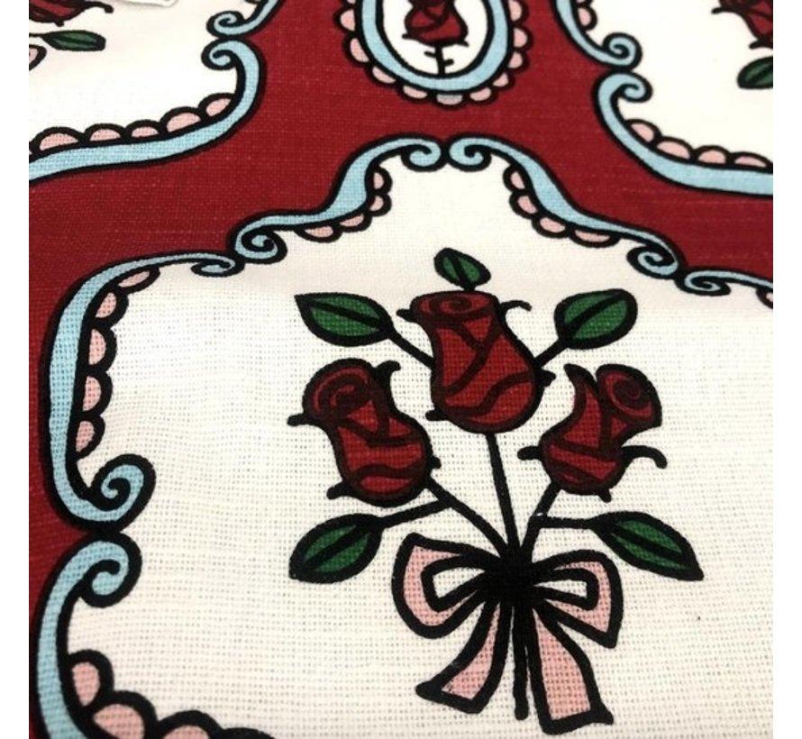 Kussenhoes Roses A.O. 60x60cm