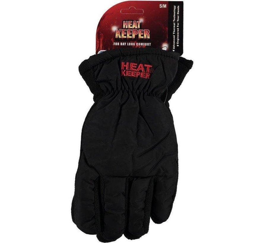 HEAT KEEPER Sports Herren Handschuhe Schwarz Größe L / XL