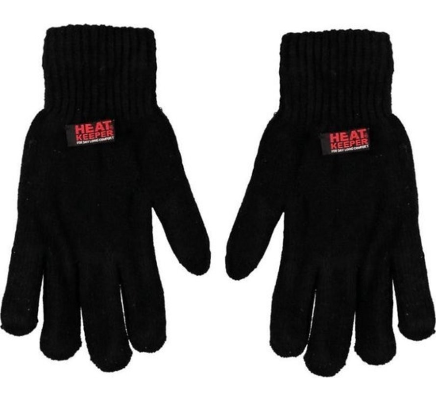 HEAT KEEPER Sport Dames Handschoenen Zwart Maat One size