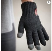 HEAT KEEPER N Touchscreen Gloves Mens Black Size L
