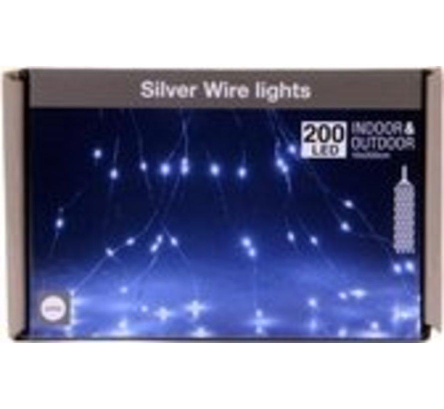Silver Wire lighting - 2 Meter