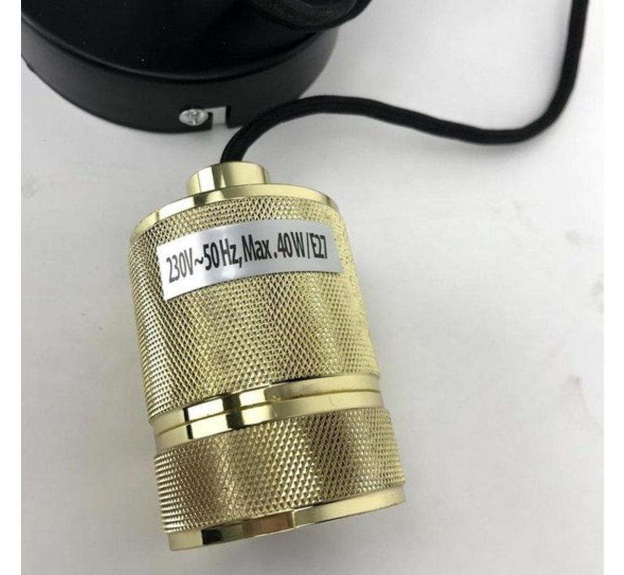 Pendelleuchte Metall Gold 7cm E27