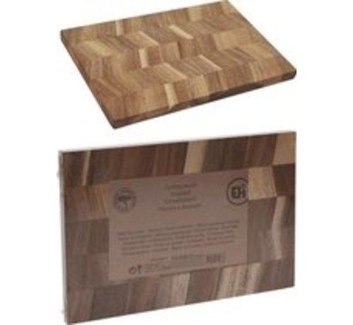 Snijplank acacia hout - 30x20 cm - Naturel