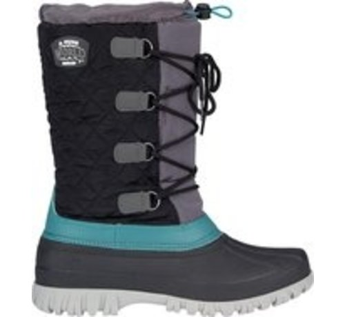 Wintergrip Winter-Grip Snow Boots Sr. - Winter Wanderer - Black / Anthracite / Gray Green - 38