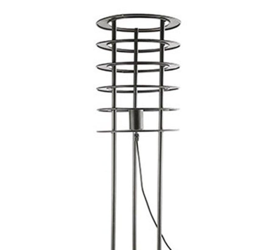 Messing Tischlampe Zilan | Höhe 100 cm