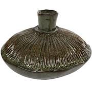 Vase - Green - Round - 19x11cm
