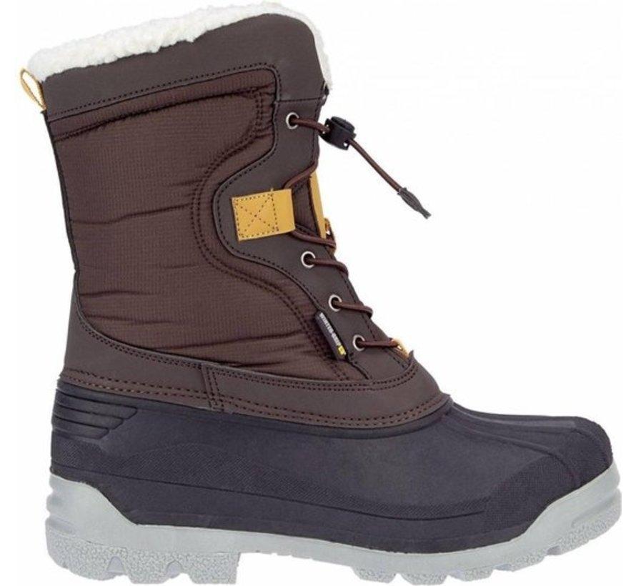 Winter-grip Snowboots Sr - Canadian Explorer II - Bruin/Antraciet/Okergeel - 36