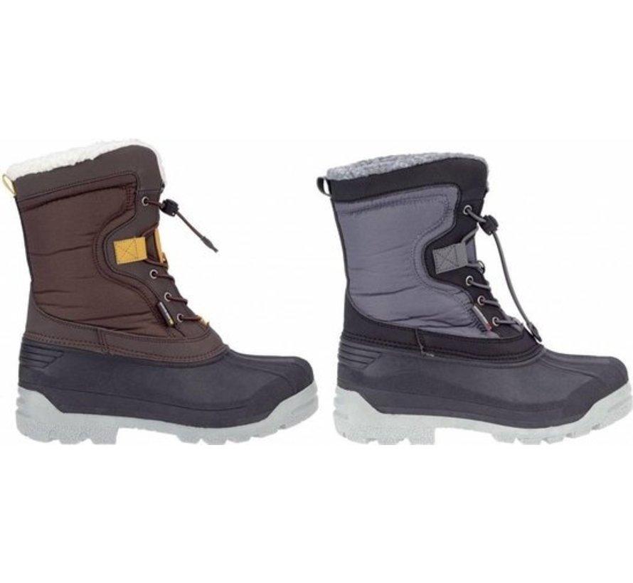 Winter-Grip Snow Boots Sr. - Canadian Explorer II - Black / Charcoal / Yellow Ocher - 41