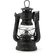 Kolony Leuk metalen stormlampje met verlichtingslampje.