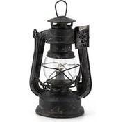 Kolony nice metal hurricane lamp with LED lighting.