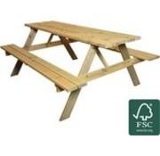 Houten Picknick Tafel 200 cm | Zware kwaliteit