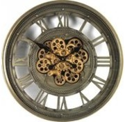 Wall Clock Marinus - With Gear - Ø60cm
