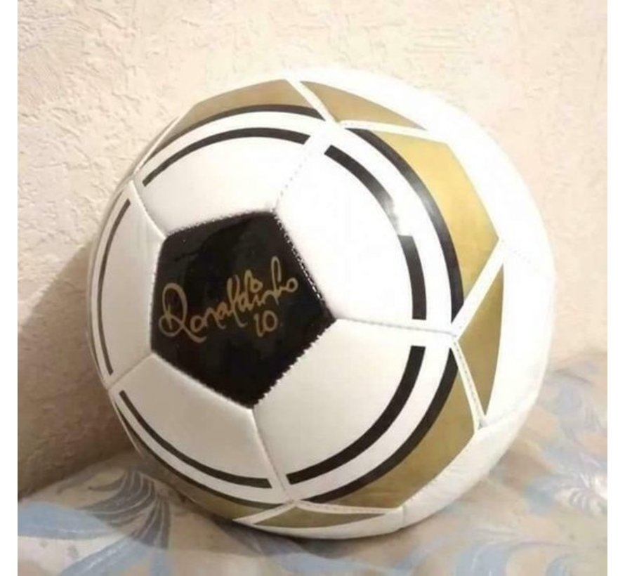 Lifetime Ronaldinho Limited Edition - Voetbal Maat 5 - 260 Grams