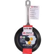 Alpina Alpina Bratpfanne - Ø 20 cm - Antihaft-Beschichtung - geeignet für alle Wärmequellen, einschließlich Induktion