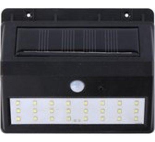 Grundig Grundig solar wandlamp - met sensor - voor buiten - 30 lm