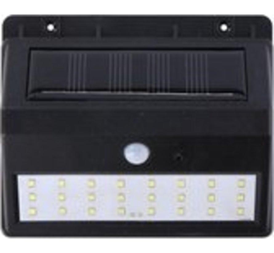 Grundig Solarwandleuchte - mit Sensor - für außen - 30 lm