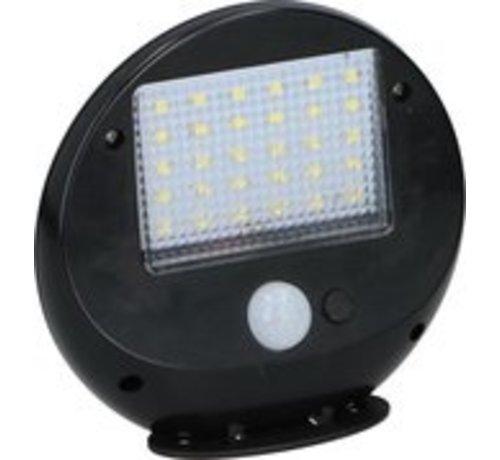 Grundig Grundig Solarwandlampe - mit Sensor - 2 Stück - 30 LEDs - 12x11x4cm