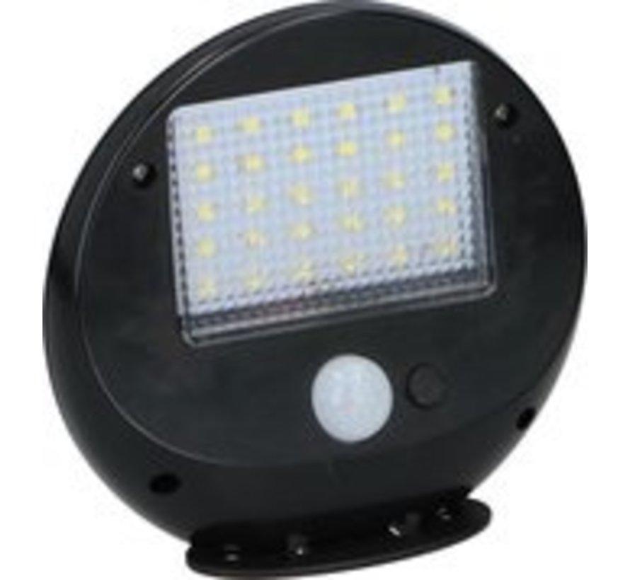 Grundig Solarwandlampe - mit Sensor - 2 Stück - 30 LEDs - 12x11x4cm