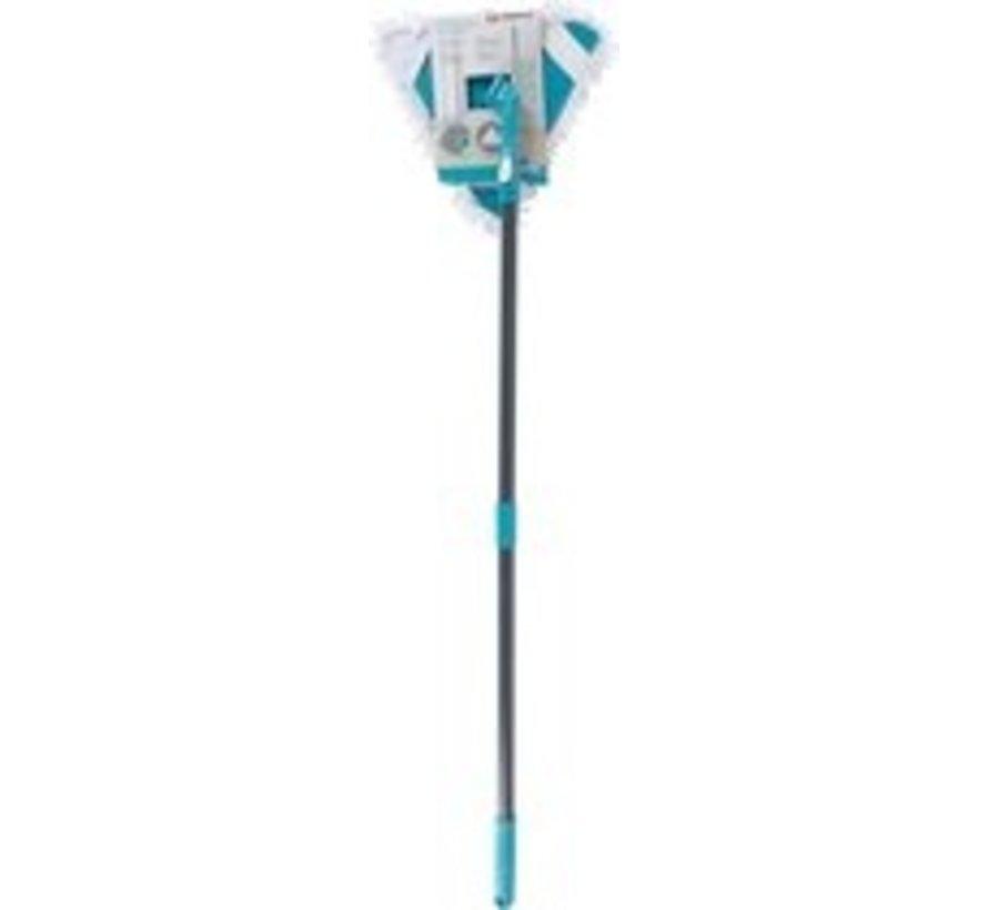 telescope-mop 115-150 cm 570 grams of gray / blue