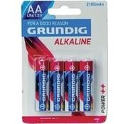 Grundig Grundig lr6 - Batterij - AA - Alkaline -1.5v - 4 stuks