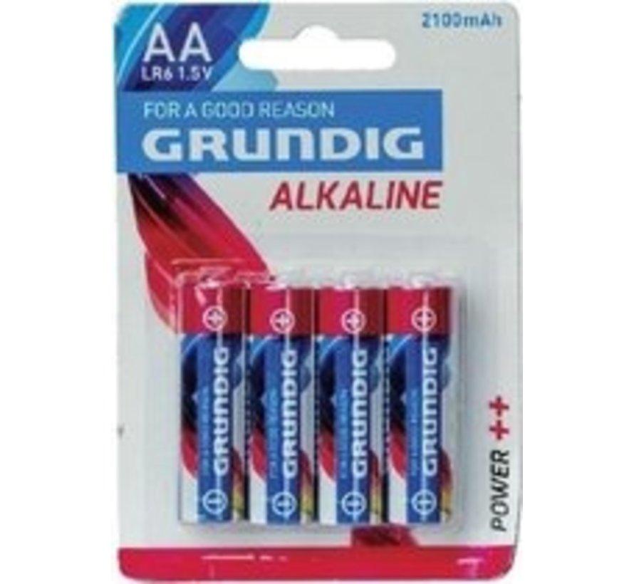 Grundig lr6 - Batterij - AA - Alkaline -1.5v - 4 stuks