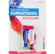 Grundig Grundig 9V Alkaline-Batterie - 1 Stück - 500 mAh