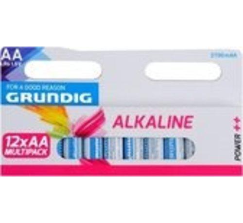 Grundig Grundig AA Alkaline Batterijen