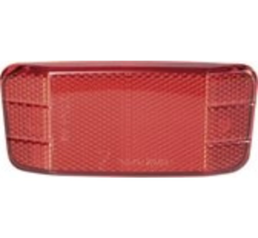 Bicycle Gear Reflector Achter Rood 12 X 6 Cm