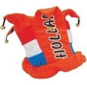 Holland - Oranje hoge hoed met belletjes