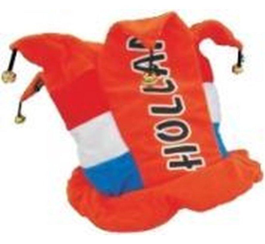 Holland - Orange Hut mit Glocken