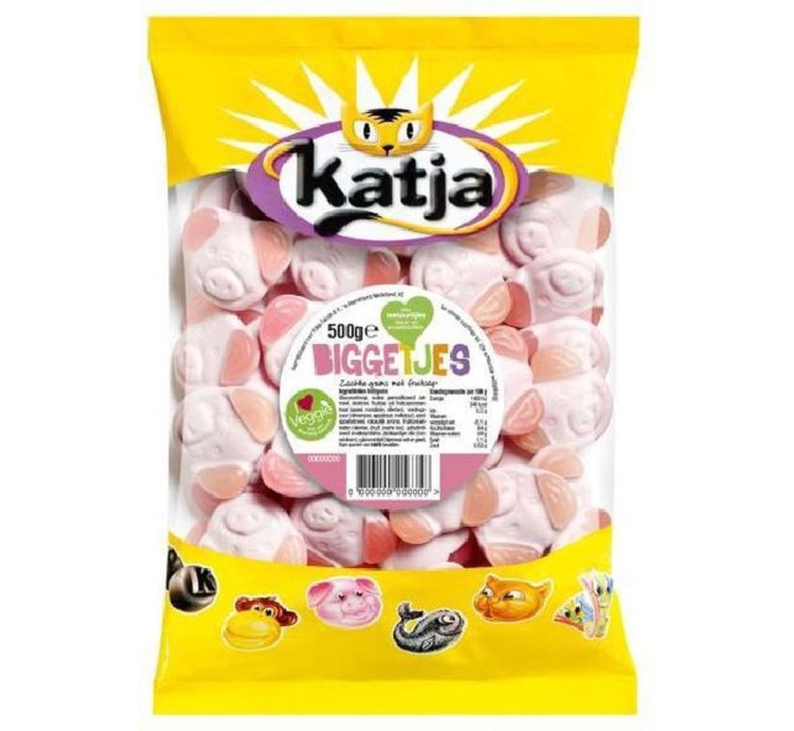 Katja biggetjes 500 gr