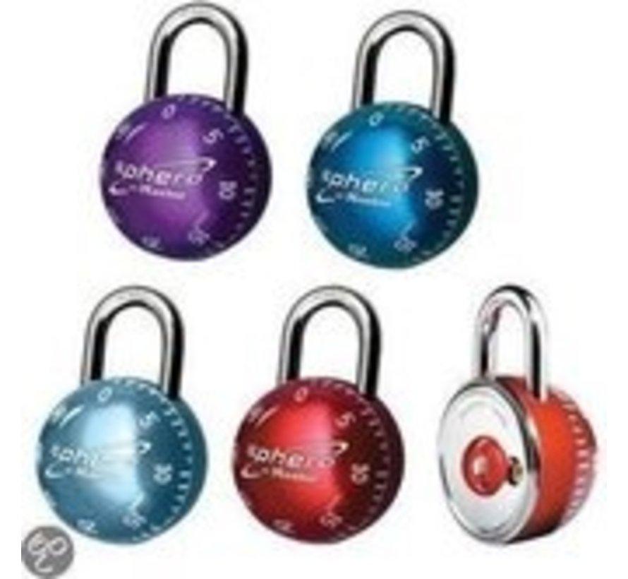 Master Lock-cijfersloten Sphero 43mm-H19 mm