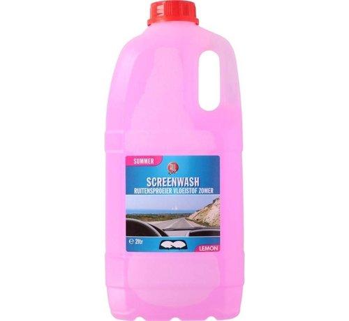 Washer Fluid - Windshield wiper fluid - Allride - 2 liters - Summer Screen Wash