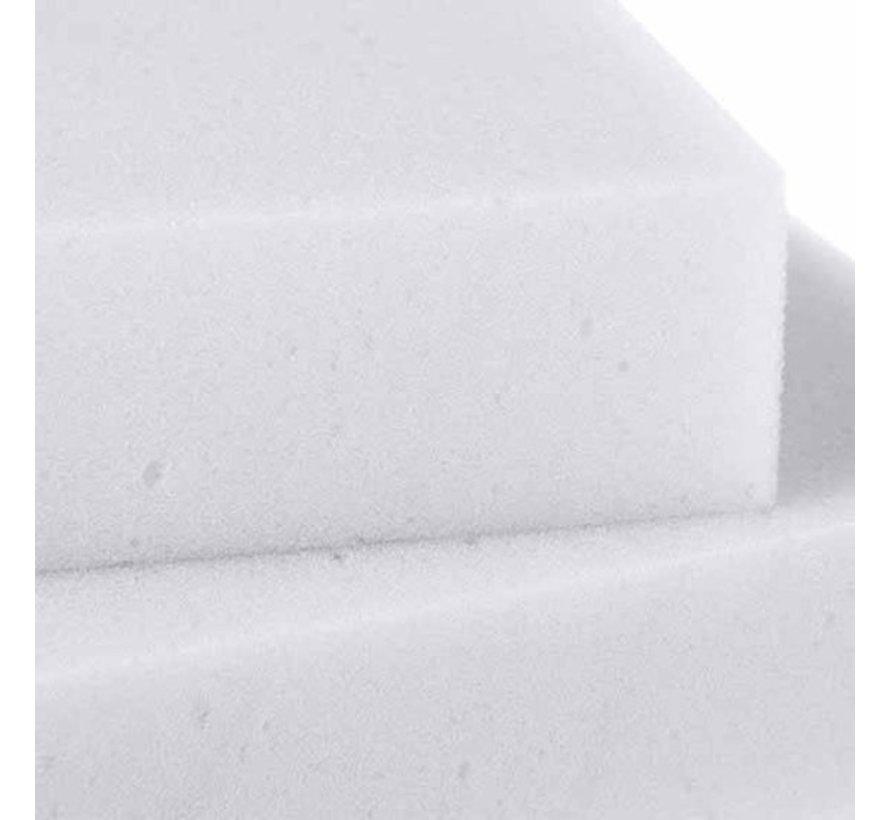 Lebensdauer Clean Magic Sponge 3 PC Weiß