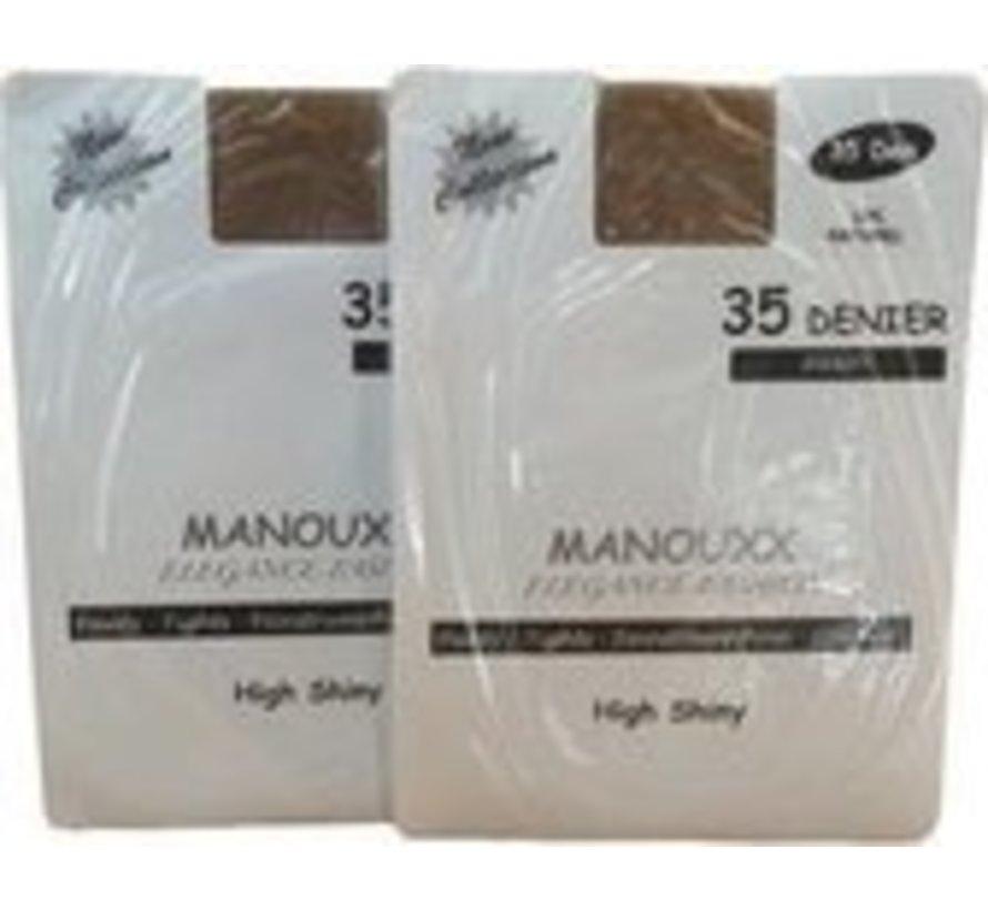 35 denier tights size L / XL