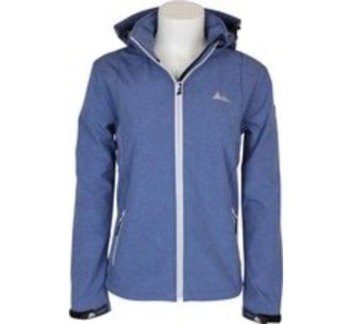 Nord Berg Softshell Jas Dames Sportjas - Maat L - Vrouwen - blauw