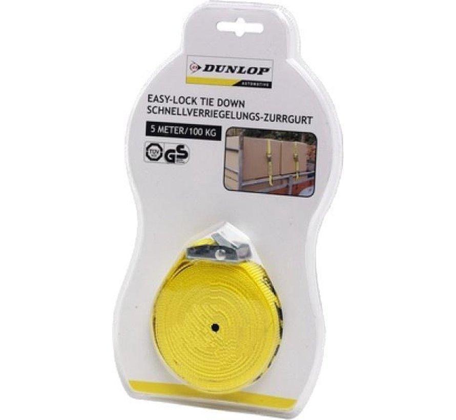 Dunlop-Bügel 25 X 5000 mm Pp 100 Kg pro Stück Yellow