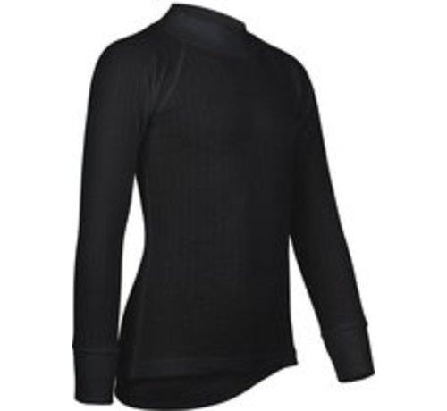 Avento Avento Thermo Langarm-Shirt - Kinder - 116 - Schwarz
