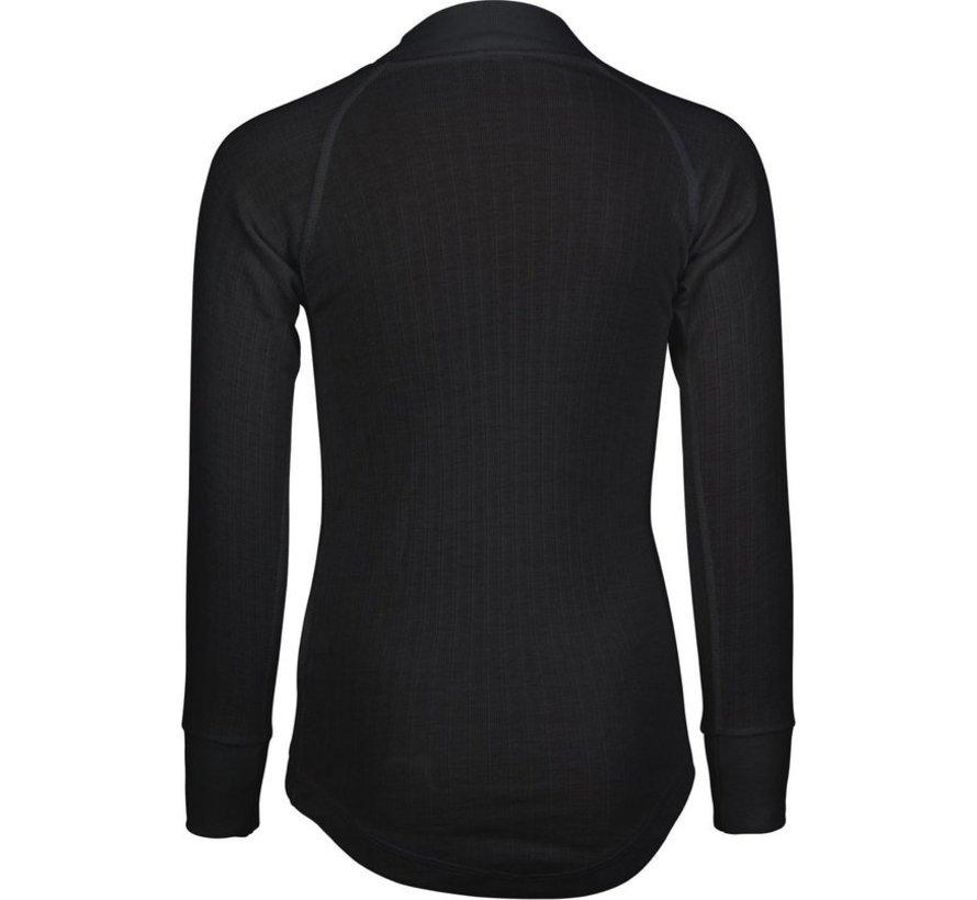 Avento Thermo Langarm-Shirt - Kinder - 116 - Schwarz