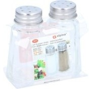 Alpina Alpina glass salt and pepper set - kitchen items