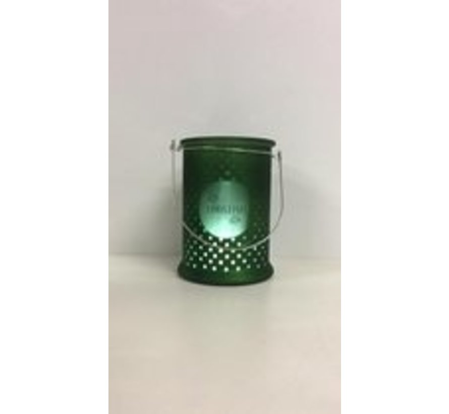 candleholder with dots - Christmas