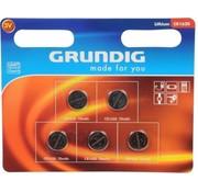 5x Knoopcel batterijen CR1620 - 3V - knoopcelbatterijen / knoopbatterijen