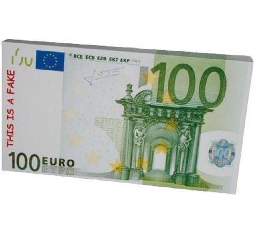 Topwrite Notitieblok Briefgeld 100 Euro